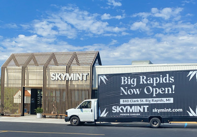 SKYMINT - Michigan's Leading Cannabis Retailer - Brings Largest Storefront To Big Rapids