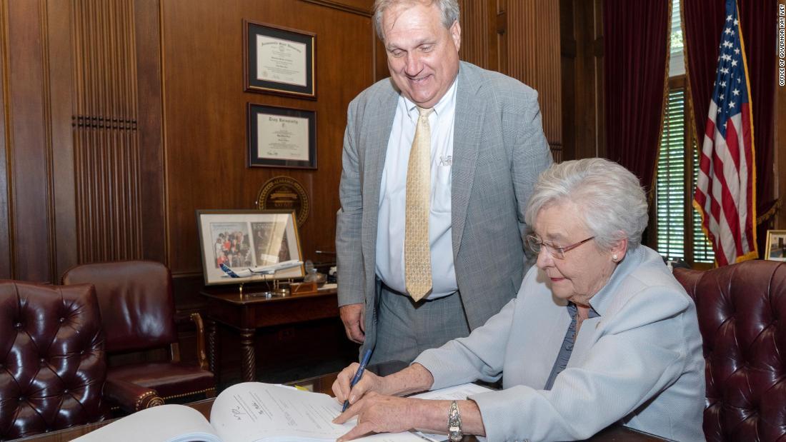 Alabama GOP governor signs medical marijuana bill into law